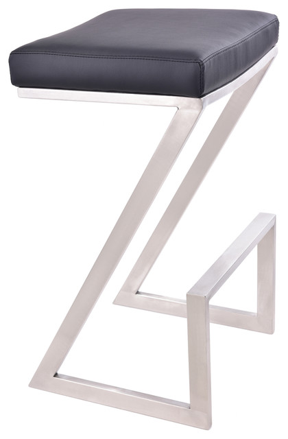 Remarkable Atlantis Backless Stool Black Bar Height Ocoug Best Dining Table And Chair Ideas Images Ocougorg