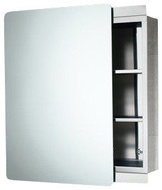 Stainless Steel Cabinet with Sliding Mirror Door - Contemporary - Medicine Cabinets - by ...