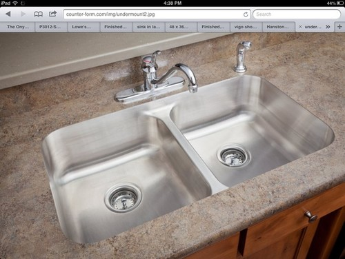 Undermount Bathroom Sink With Laminate sink in laminate