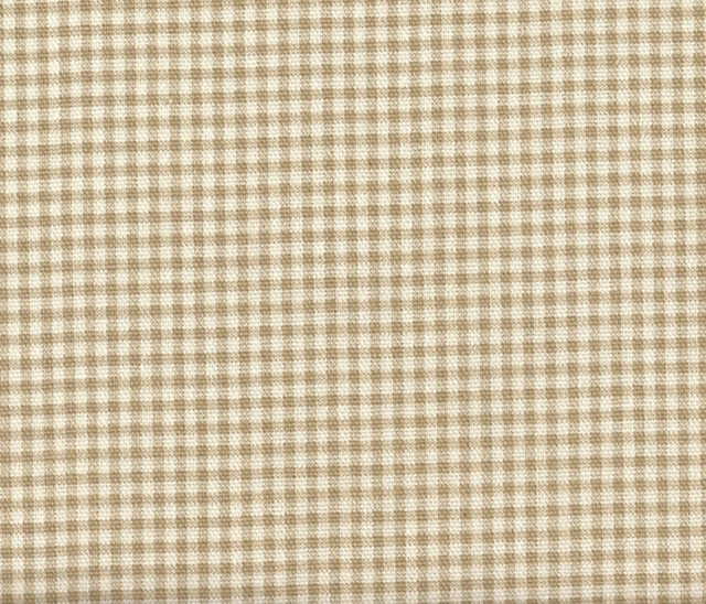 Shower Curtain Linen Beige Gingham Check   Traditional   Shower ...