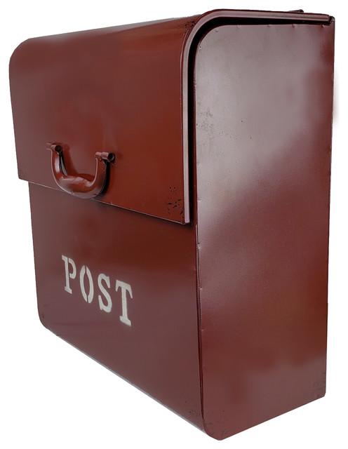 Cj Wall Mounted Mailbox Farmhouse Mailboxes By Nach