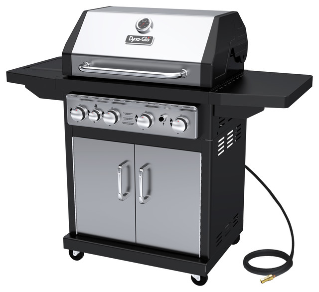 Dyna-Glo 4 Burner Stainless Natural Gas Grill.