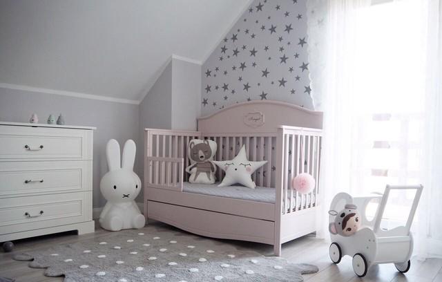 Babybett good night pink 70x140cm umbaubar zum sofa - Kindermobel dresden ...