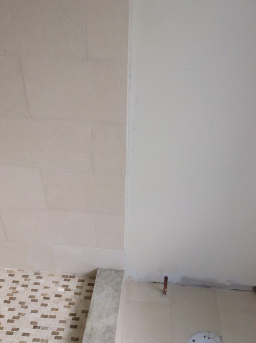 Shower Wall Transition
