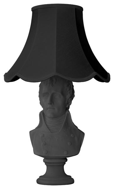 Waterloo Table Lamp, Black