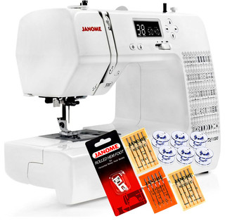 Janome DC1050 Computerized Sewing Machine w/FREE Shipping + 5-Piece VIP Package! - Contemporary ...