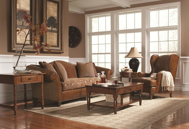 Stickley Fine Upholstery U0026 Leather Collection Traditional