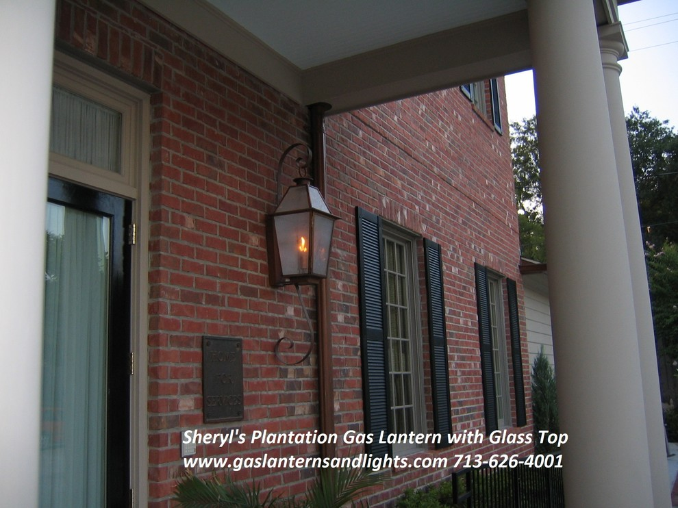 Plantation Style Gas and Electric Lanterns by Sheryl Stringer