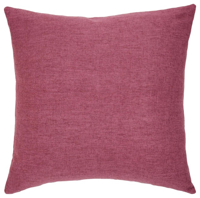 Dublin Raspberry Decorative Accent Pillow By Michael Amini Stunning Raspberry Decorative Pillows