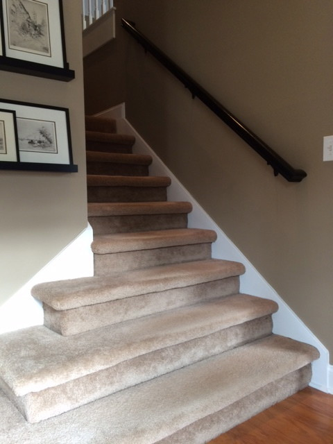 Staircase Redo Want Quot Chunky Quot Wood Stairs Leave Bottom