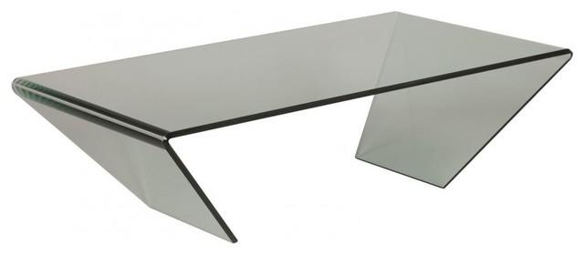 Table basse emeraude en verre contemporary coffee - Tables basse en verre ...