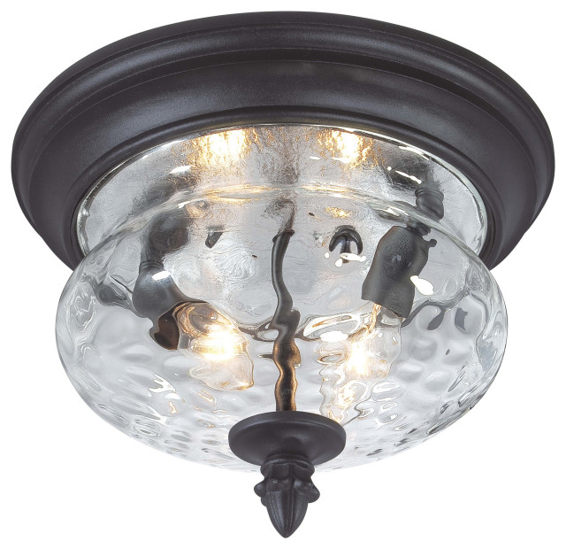 The Great Outdoors Ardmore 2 Light Flush Mount Ceiling Fixture