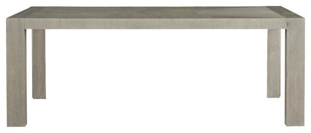 Langston Modern Grey Oak Wood Dining Room Table 84