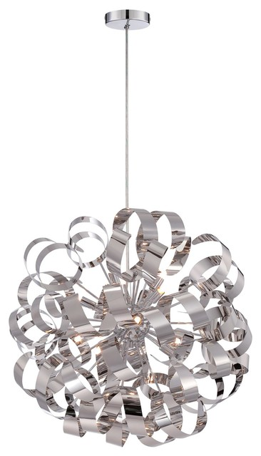 Quoizel Polished Chrome Pendants Sku Rbn2823C contemporary-pendant- lighting  sc 1 st  Houzz & Quoizel Satin Copper Pendants Sku: Rbn2823Sg - Contemporary ... azcodes.com
