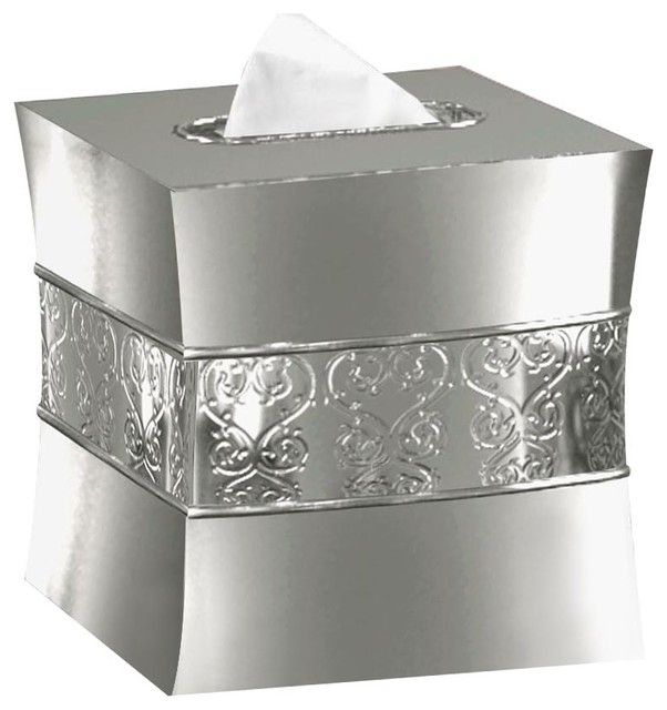 Mercury Gl Boutique Tissue Box Cover With Holder