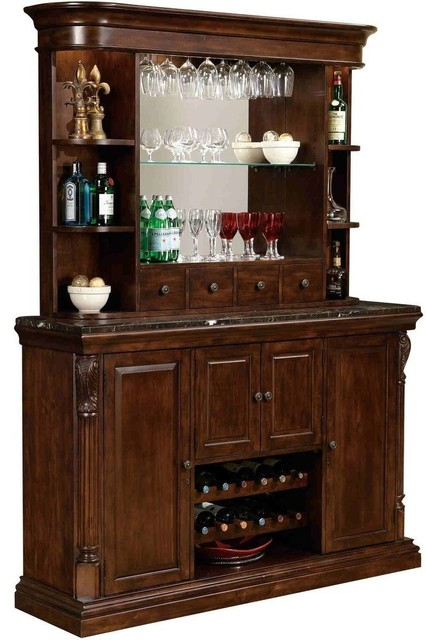 Howard Miller Niagara Bar Console With Hutch