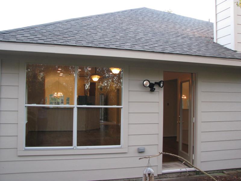 Hurricane Ike Damaged home