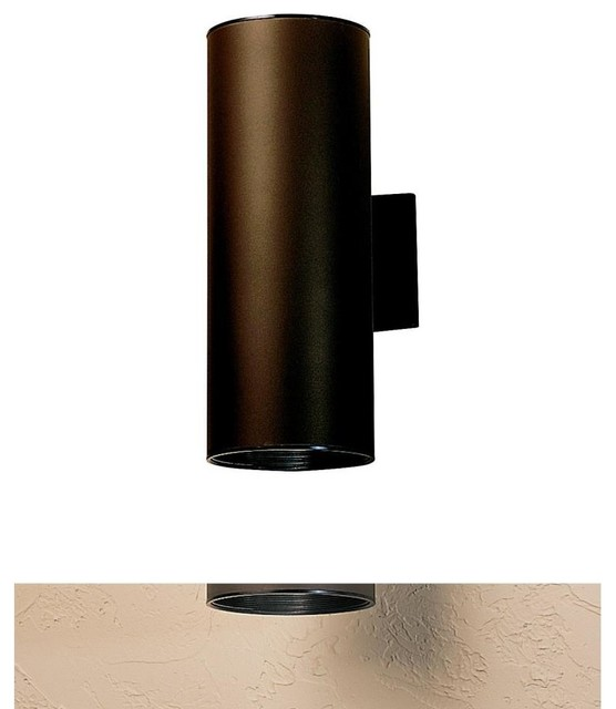 KICHLER Cans & Bullets Hard Contemporary Outdoor Wall Sconce X-ZA6429 - Contemporary - Outdoor ...