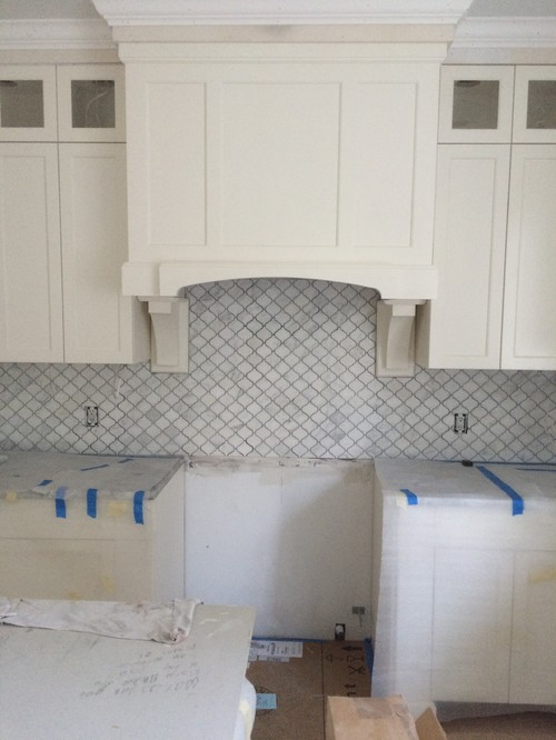 Wrong Grout On Bianco Carrara Marble