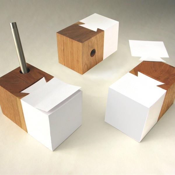 Schleeh design dovetail pad contemporary desk - Modern desk accessories and organizers ...