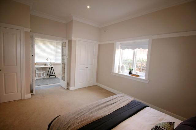 Master Bedroom Study Nook Eclectic Bedroom Newcastle