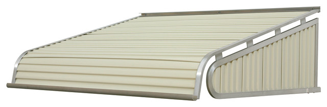 "1500 Series Aluminum Door Canopy 36""x48"" Projection, Almond."