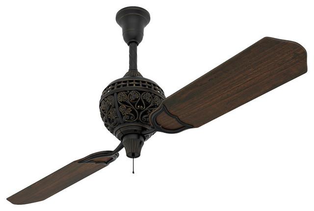 Limited Edition Midas Indoor Ceiling Fan - Mediterranean - Ceiling ...