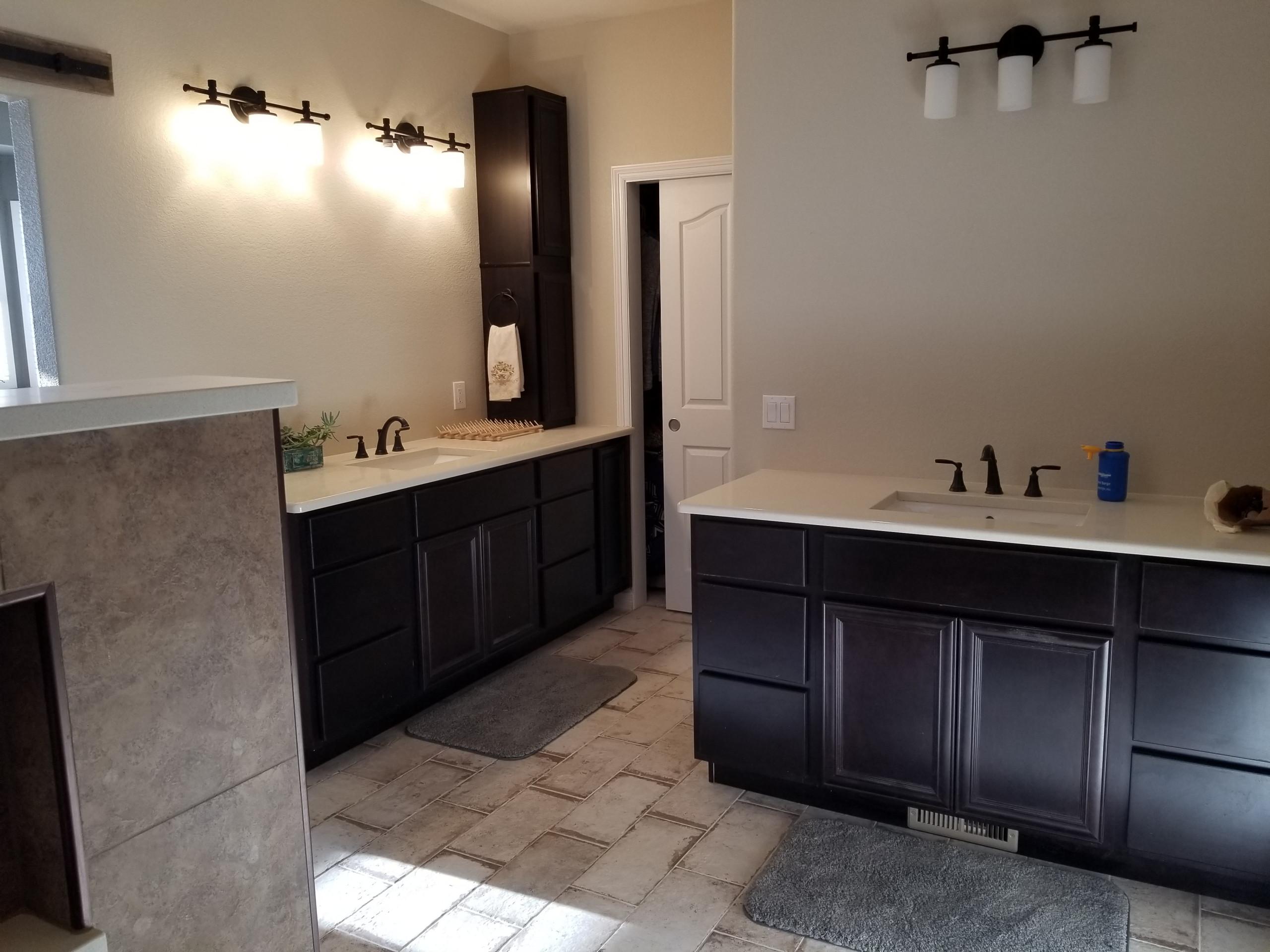 Master bath, laundry, basement finish