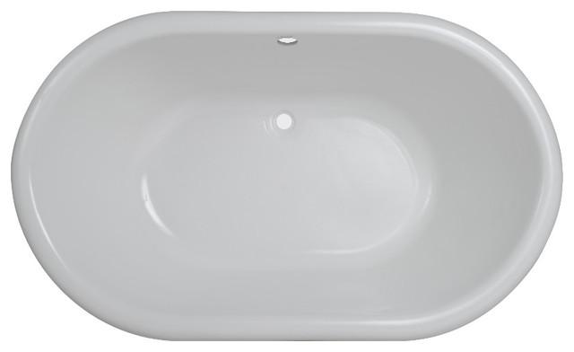 Victoria Free-Standing Acrylic Tub.