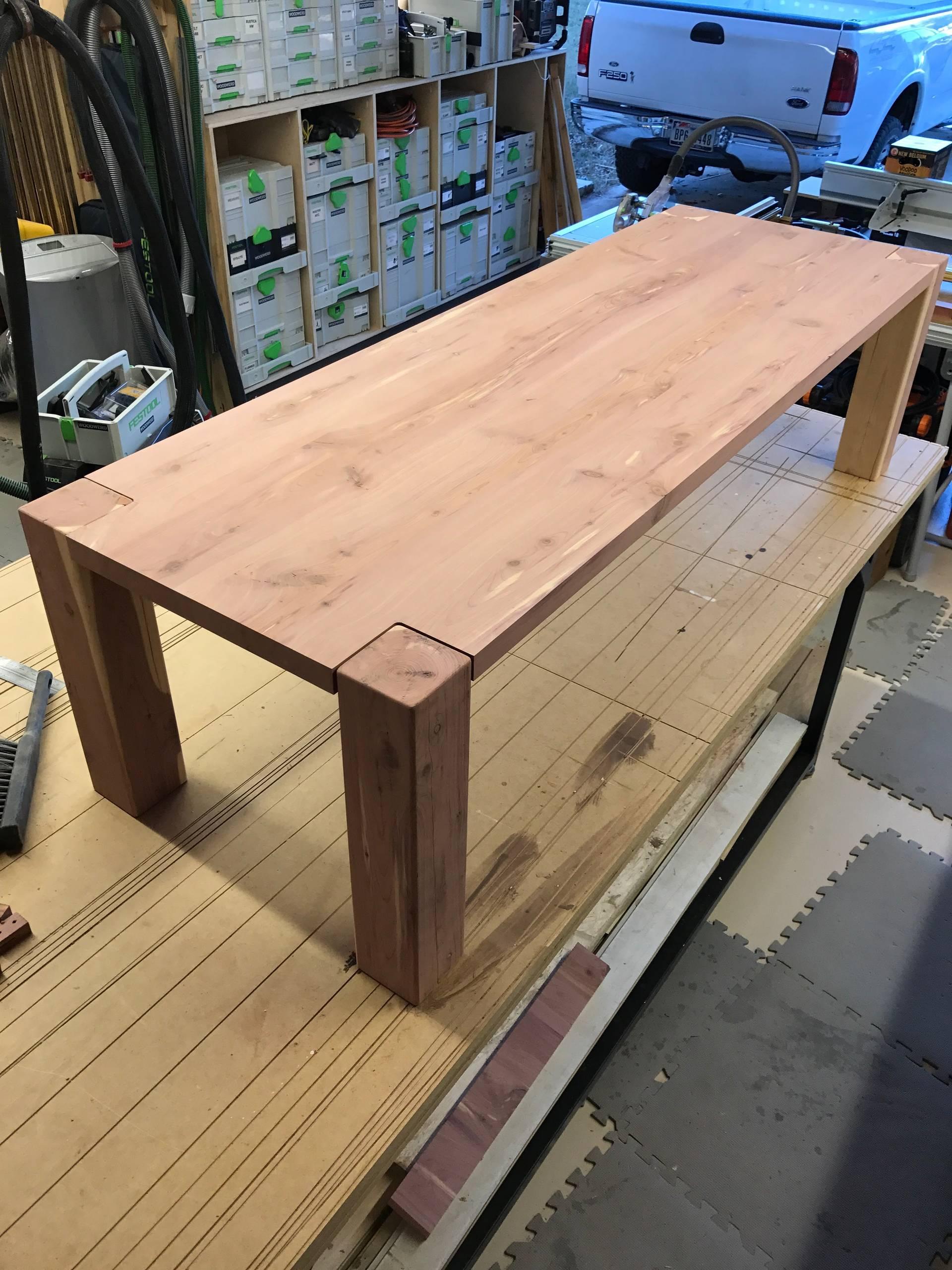 e5 Bastrop Fire Cedar Coffee Table
