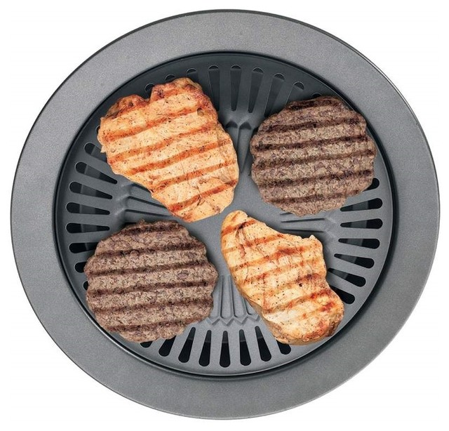 Chefmaster Smokeless Indoor Stove Top Barbeque Grill.