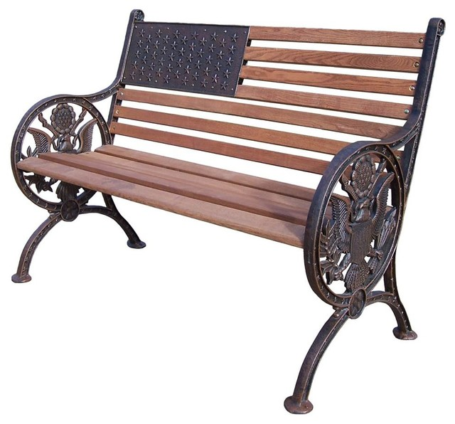 Cool Bench In Antique Bronze Finish Bralicious Painted Fabric Chair Ideas Braliciousco