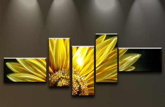 wandbilder abstrakte kunst moderne malerei auf metall große, Wohnzimmer dekoo