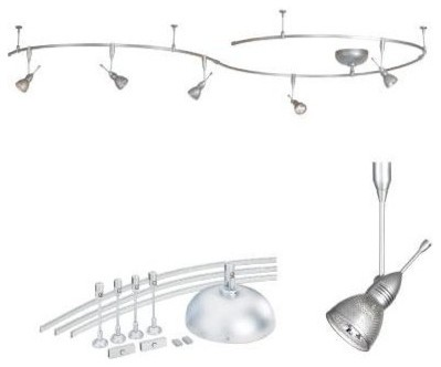 Wac Lighting Brushed Nickel Rail Kit
