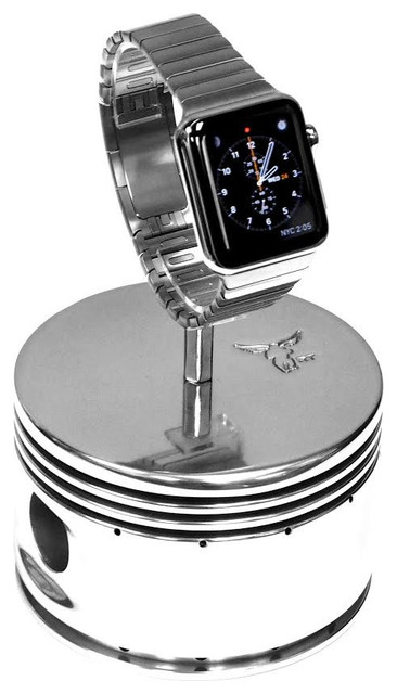 Airplane Engine Polished Piston Watch Display Stand - Modern - Jewelry Boxes And Organizers - by ...