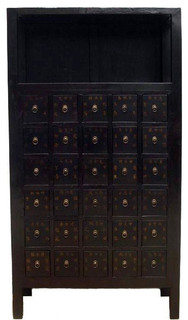 Consigned Antique, Chinese Herb Medicine Cabinet