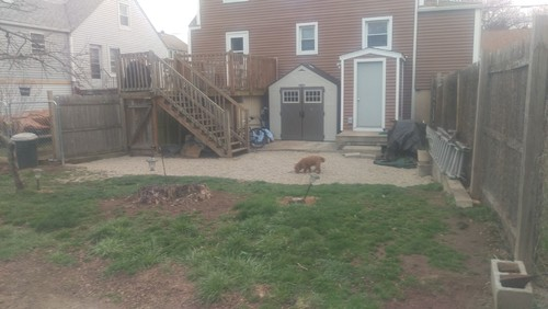 Image result for ugly backyard