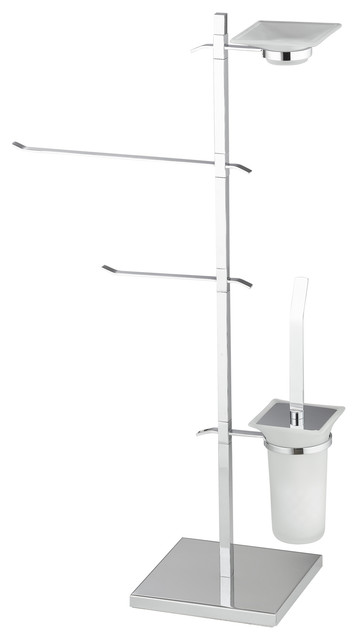 rombo toilet accessory stand - contemporary - toilet roll holders ... - Sodim Arredo Bagno