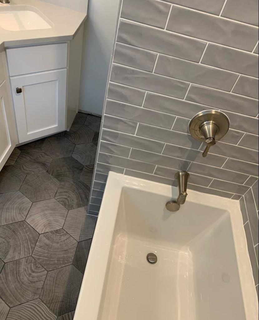 Subway Tile Bathroom Remodel