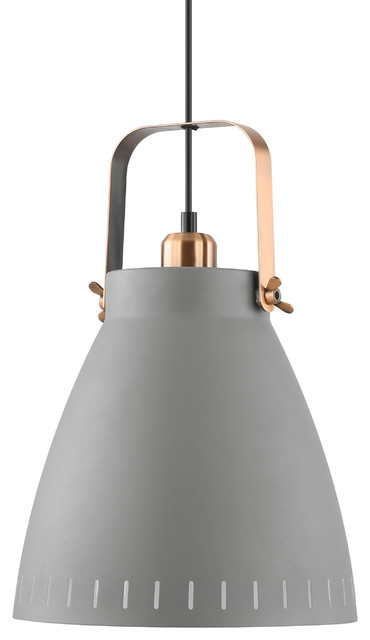 Grigsby Pendant Light, Sand Grey.