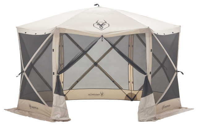 Gazelle 6-Sided Screen Tent traditional-canopies-tents-and-awnings  sc 1 st  Houzz & Ardisam Inc. - Gazelle 6-Sided Screen Tent - View in Your Room ...