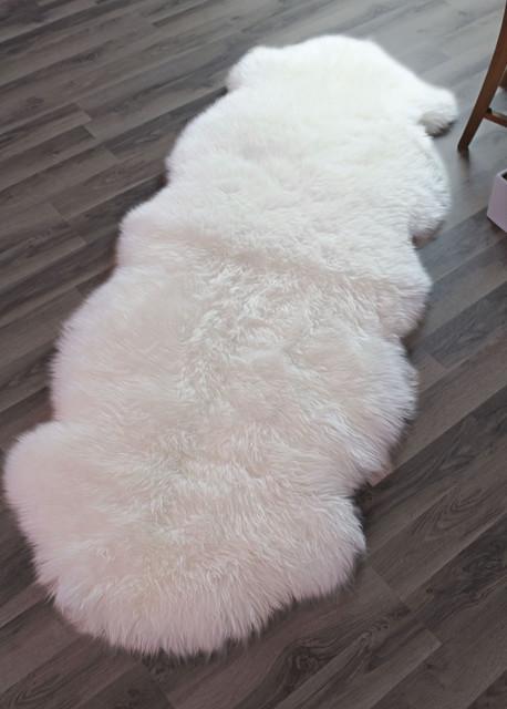 Genuine Sheepskin Rug Contemporary