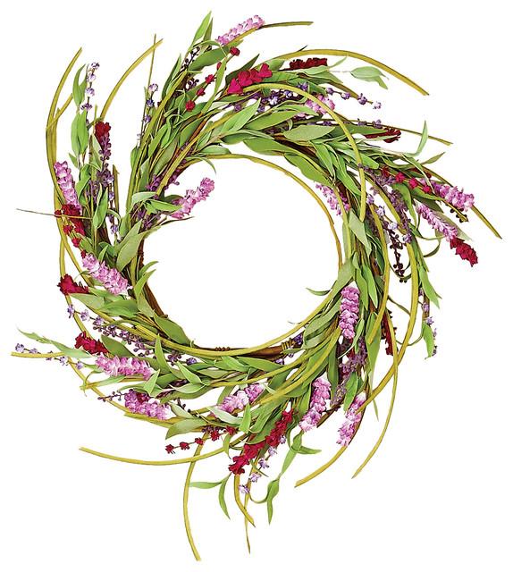 Eighteen Inch Spike Wreath.