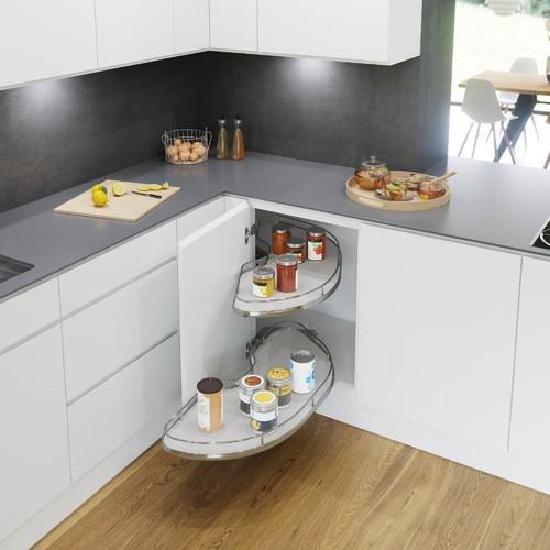 Clever Corner Cupboard Storage Solutions