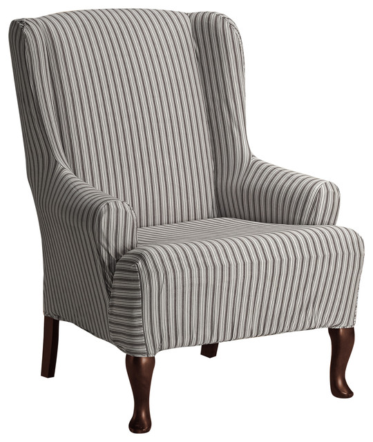 Coverworks Landon Stretch Wing Chair Cover Armchairs And