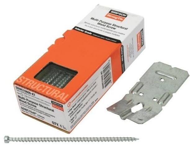Simpson Strong Tie Strong Drive Structural Screw For Truss