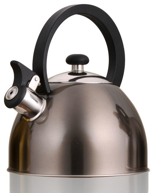 Prelude 2.1-Quart Tea Kettle, Metallic Smoke.