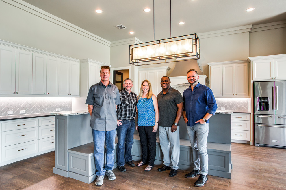 Homeowners w/ Genuine Custom Homes Team