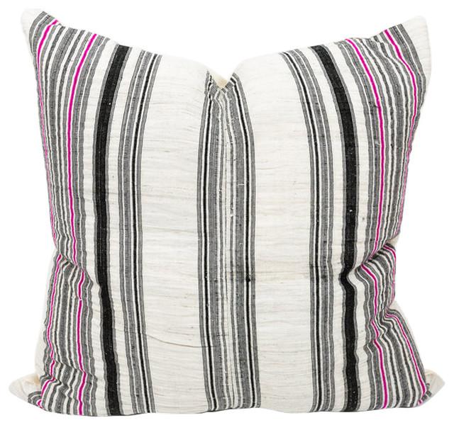 """Khao Thai Hmong Pillow, 20""""x20"""", Zipper, Cover Only"""
