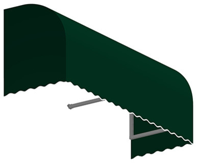 4&x27; Savannah Window/entry Awning, Forest Green.